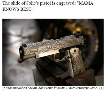 angelina's gun