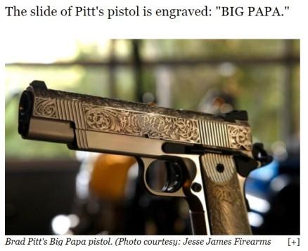 brad's gun
