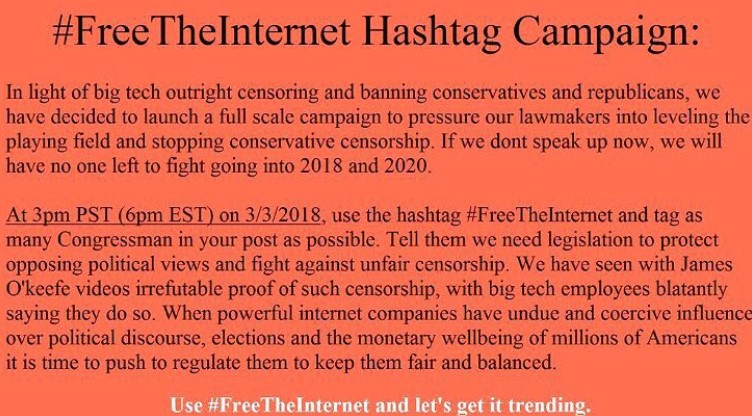 #FreeTheInternet