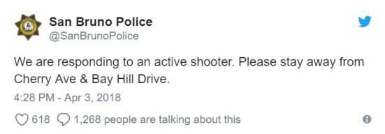 san bruno police tweet